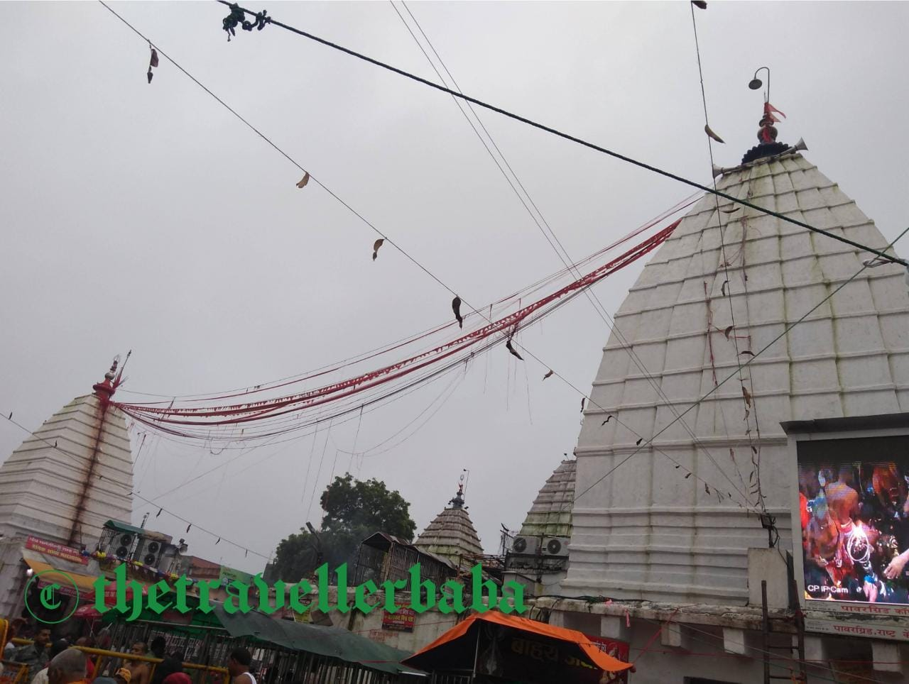 Shiva and the Shakti tied wit the knot in Baba Baidyanatha,Deoghar.